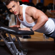 Man at the gym — Stock Photo #3376202
