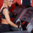 Woman at the gym — Stock Photo #3376228