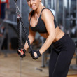 Woman at the gym — Stock Photo #3376235