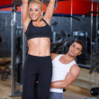Couple at the gym — Stock Photo #3376254