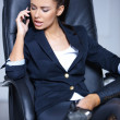 Portrait of beautiful business woman — Stockfoto