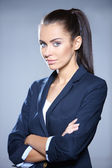 Portrait of beautiful business woman — Foto Stock