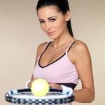 Female tennis player — Stock Photo #3855365