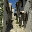 A street in Hum, Croatia. — Stock Photo