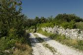 Road in Hum, Istria, Croatia — Stock Photo