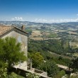 Umbria landscape (Italy) — Stock Photo