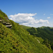 Stock Photo: Mountains in Poland. Beautifool green hills