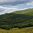 Bieszczady mountains panoramic — Stock Photo