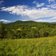Bieszczady mountains panoramic — Stock Photo #3664647