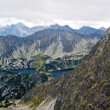 Stock Photo: Panoiramic of Tatras mountain
