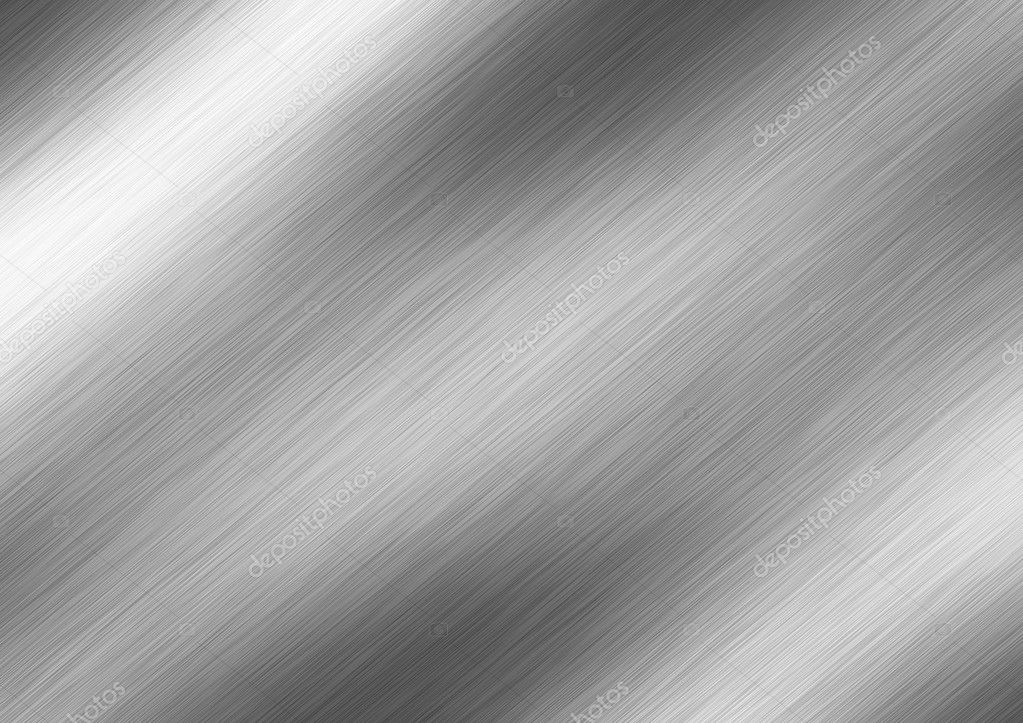 Brushed metal texture abstract background — Stock Photo #3261019