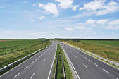 Four-lane motorway — Stock Photo