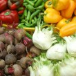 Close up of vegetables on market stand — Stock Photo #3004669