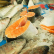 Fresh fish for sale — Stock Photo