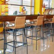 Interior of a cafeteria — Stock Photo