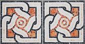 Antique mosaic — Stock Photo