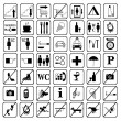 Stok Vektör: Signs and symbols