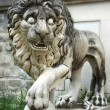 Lion from Pelesh Palas in Romania - Foto de Stock  