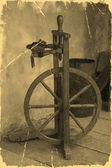 Stary kołowrotek — Zdjęcie stockowe