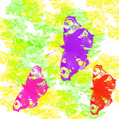 Multicolored butterflies — Stock Photo