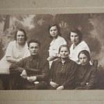 Big family, old picture, Ukraine — Stock Photo #3777653