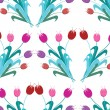 Royalty-Free Stock Vector Image: Floral seamless pattern