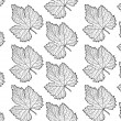 Royalty-Free Stock Imagem Vetorial: Leaf seamless pattern