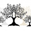 Tree silhouettes — Stock Vector #2998974