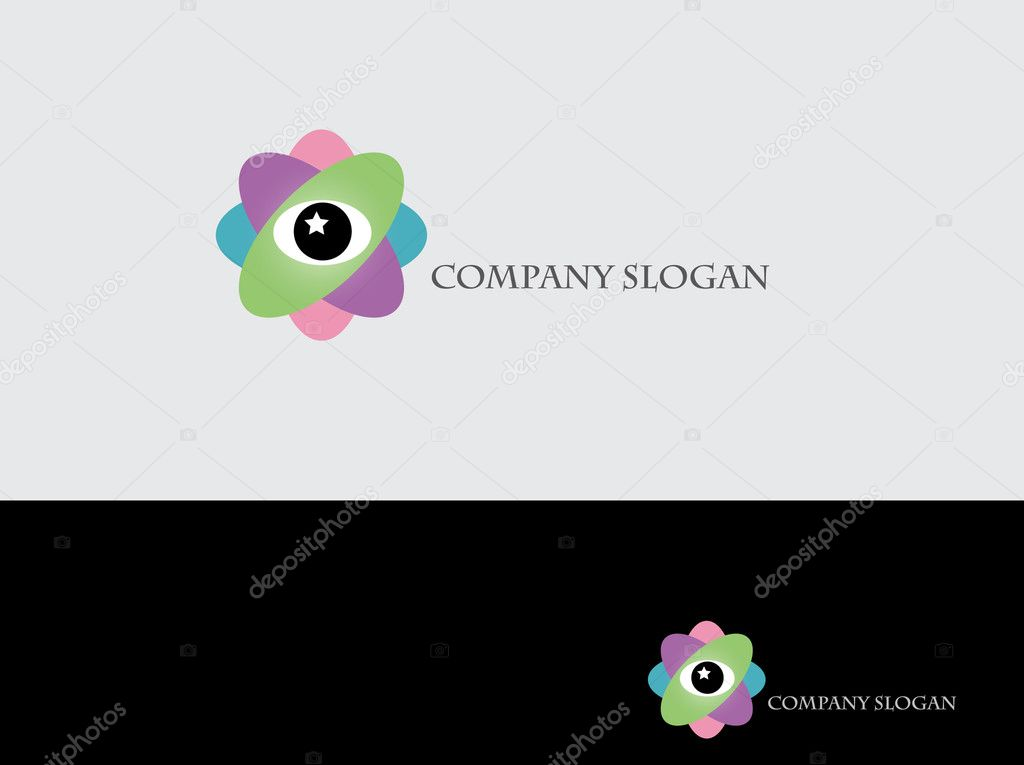 Abstract logotype for your company — 图库矢量图片 #3356496