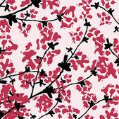 Textura floral — Vetorial Stock