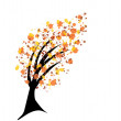Autumn tree — Stock Vector #3686282
