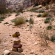 Path with bedouin sign - Photo
