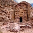 Ancient tomb in Petra - Stock Photo