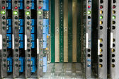 Telephone exchange system — Stockfoto