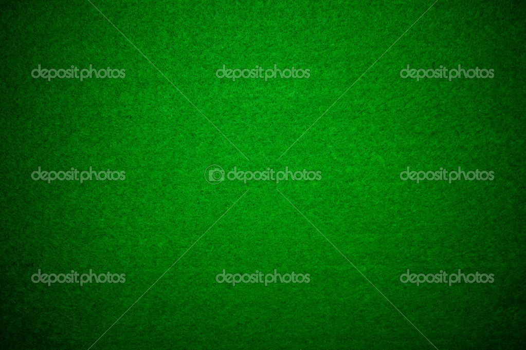 Close-up of green poker table felt background — Stock Photo #3569679