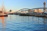 La Rambla del Mar. Barcelona. — Stock Photo