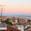 Rooftop view of Lisbon - Stock Photo