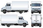 Vector delivery / cargo truck — Stock Vector
