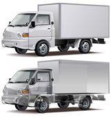 Entrega vector / camión de carga — Vector de stock