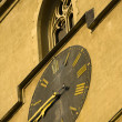 Stock Photo: Big clock detail