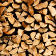 Firewood background — Stockfoto #3830456