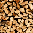 ストック写真: Firewood background