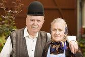 Viejo retrato de pareja — Foto de Stock