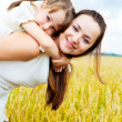 Happy mother and daughter — Stock Photo #3184465