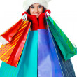 Girl with shopping bags — Stock Photo #3187341