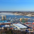 Royalty-Free Stock Photo: Stockholm panorama port