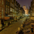 Mary's Street in Gdansk, Poland. - Stock Photo