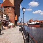 ������, ������: Crane in Gdansk