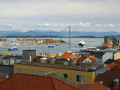 Stavanger panorama — Stock Photo
