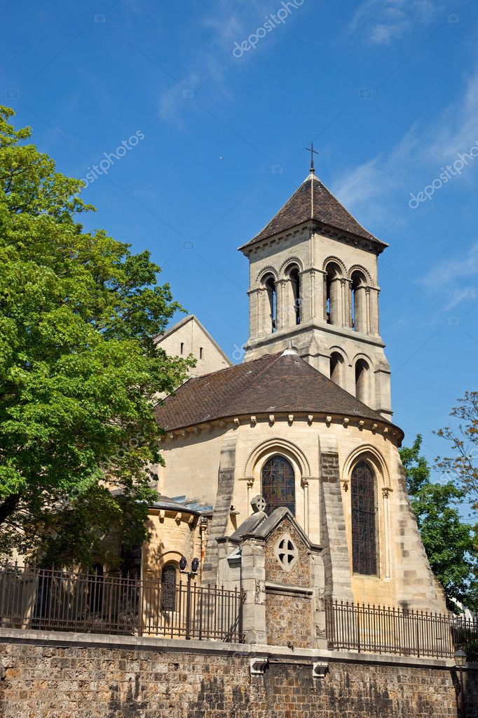 Saint pierre de montmartre kirche paris stockfoto nightman1965 3282332 - St pierre de montmartre ...